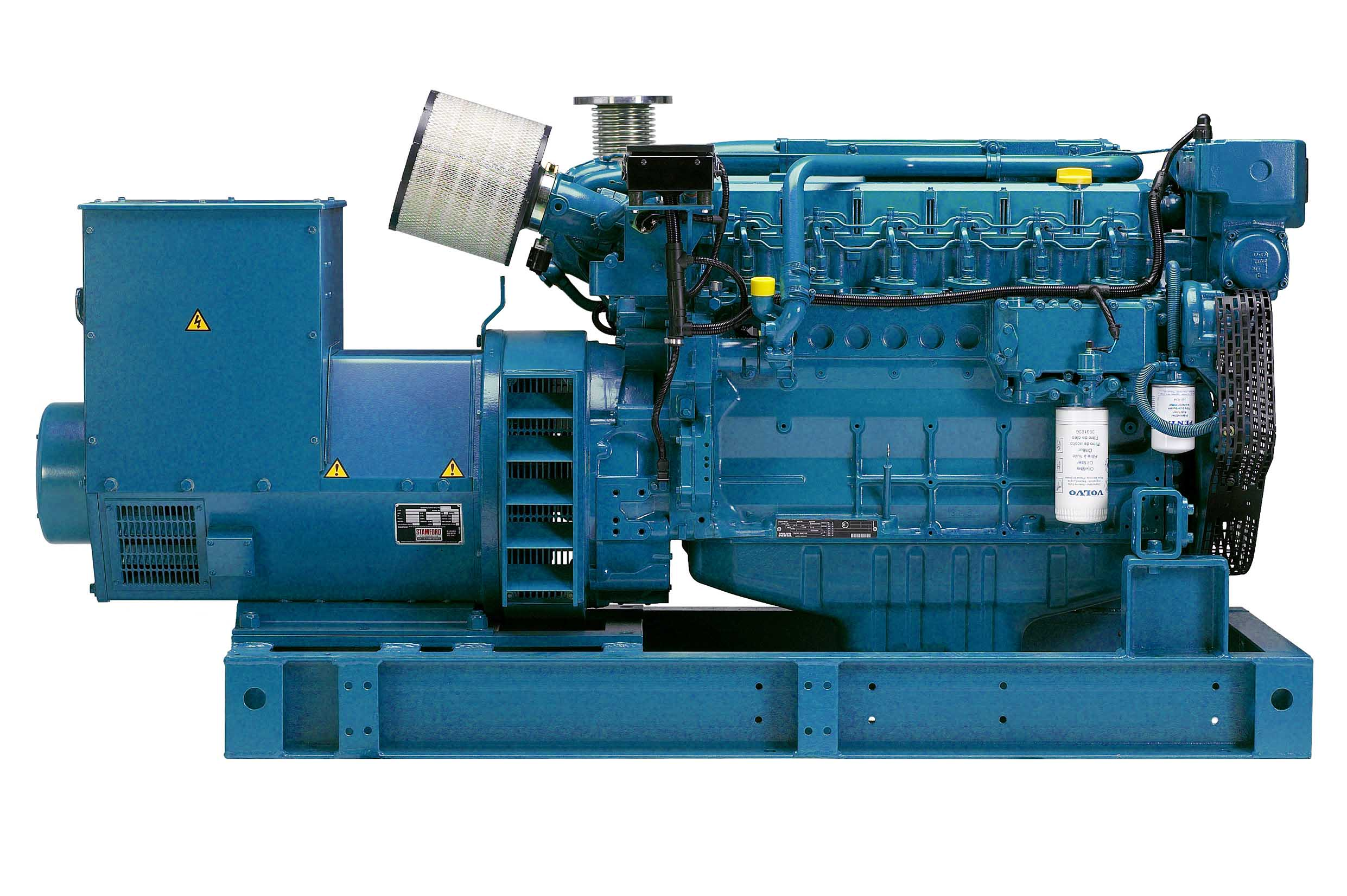 gensets engines powerhouse volvo penta mitsubishi